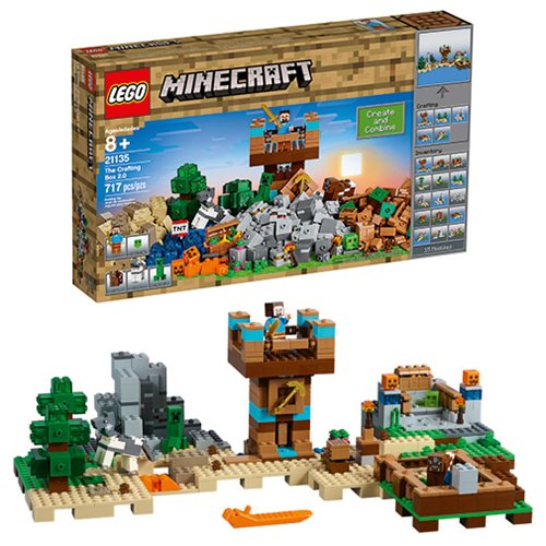 LEGO Minecraft Creative Adventures 21135 The Crafting Box 2.0