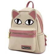 Cat Face Fish Bone Mini Backpack
