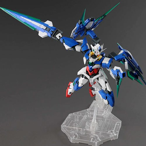 Mobile Suit Gundam 00V: Battlefield Record 00 QAN Full Saber MG 1:100 Scale Model Kit