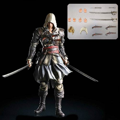 Assassin S Creed 4 Black Flag Edward Kenway Play Arts Kai Action