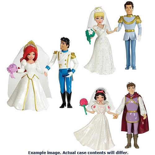 Disney Princess Fairytale Wedding Doll Gift Sets Case ...