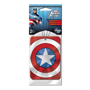 Captain America Marvel Air Freshener 2-Pack