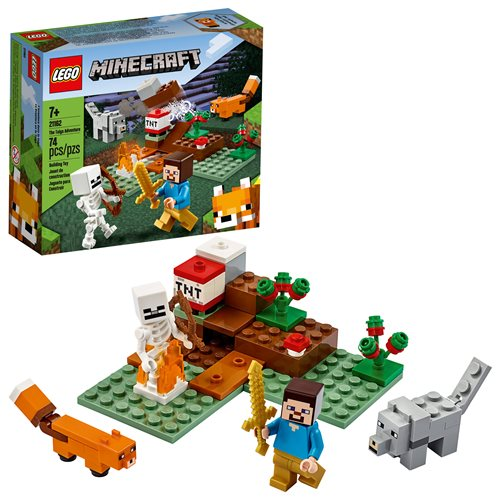 LEGO 21162 Minecraft The Taiga Adventure