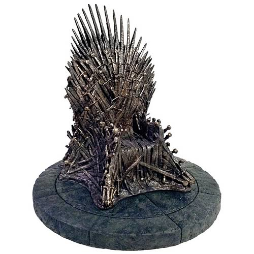 Game of Thrones Throne Replica 14-Inch Tall Statue