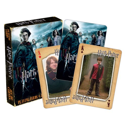 Harry Potter and the Goblet of Fire Playing Cards