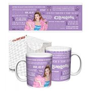 Clueless Cher Quotes 11 oz. Mug