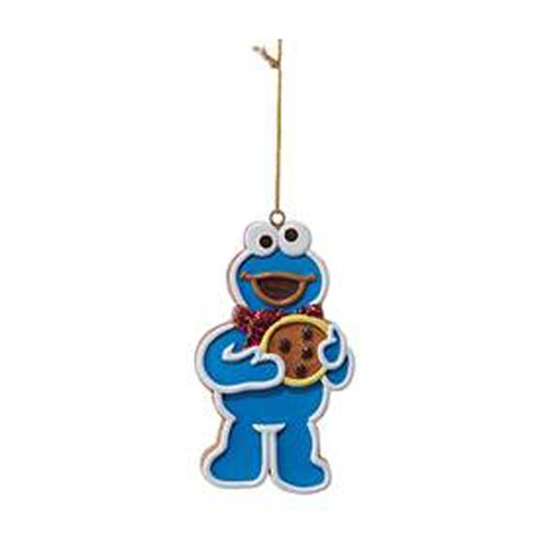 Sesame Street Gingerbread Cookie Monster 3 1/2-Inch Ornament
