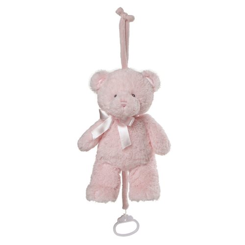 My First Teddy Pull Down Pink Plush