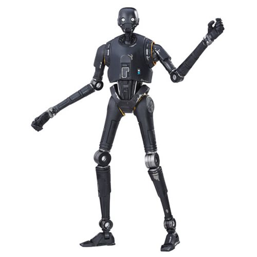 Star Wars The Black Series K-2SO 6-Inch Figure, Not Mint