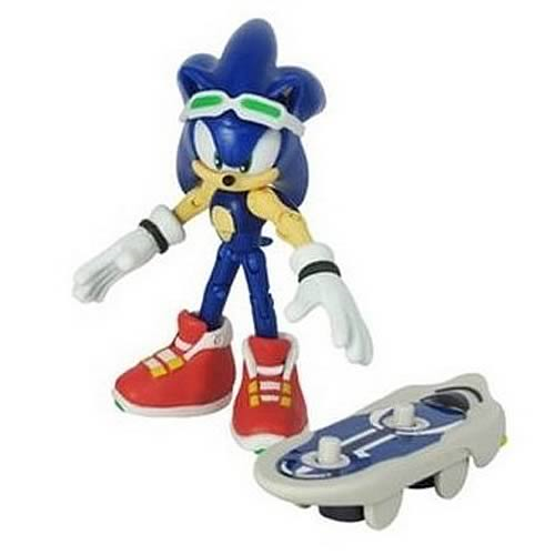 Sonic Free Riders Sonic the Hedgehog Action Figure