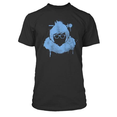 Overwatch Mei Spray Premium T-Shirt Black