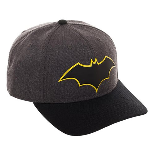 Batman Rebirth Pre-Curved Bill Snapback Hat