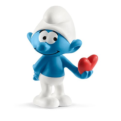 Smurfs Smurf with Heart Collectible Figure