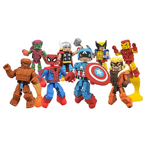 Marvel Minimates Best of Mini-Figures Set