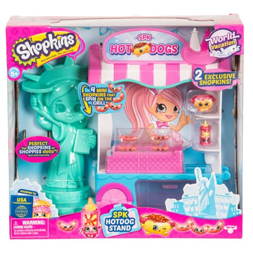 Shopkins Series 8 Wave 3 Playset