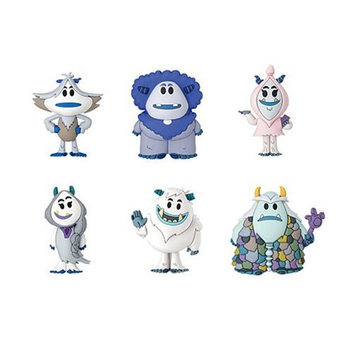 Small Foot 3-D Figural Key Chain Random 6-Pack