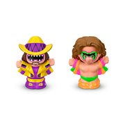 WWE Ultimate Warrior and Macho Man Randy Savage Figures by Little People