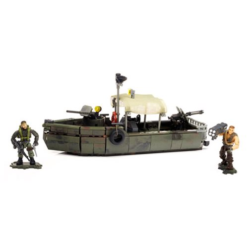 Mega Bloks Call of Duty Riverboat Raid Playset