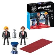 Playmobil 9015 NHL Stanley Cup Presentation Action Figures