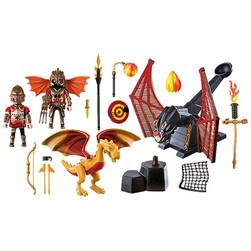Playmobil 70226 Novelmore Burnham Raiders Dragon Training