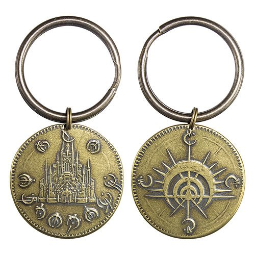 Mistborn Golden Boxing of the Final Empire Key Chain