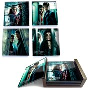 Harry Potter StarFire Prints Glass Coaster Set