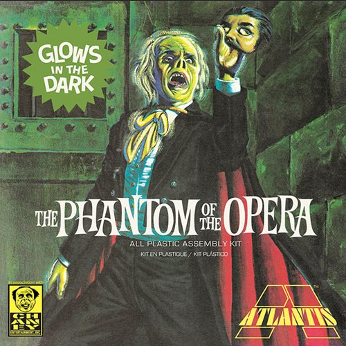 Phantom of the Opera Glow in the Dark Edition 1:8 Scale Plastic Model Kit