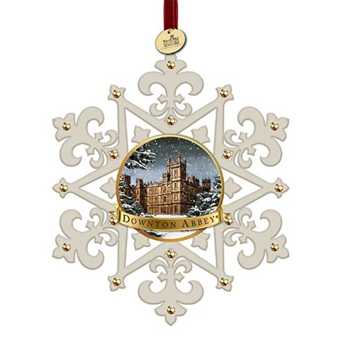 Downton Abbey Snowflake 4 3/4-Inch Ornament