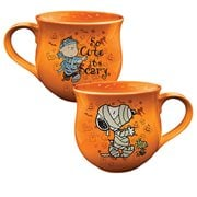 Peanuts Halloween Cauldron-Shaped Ceramic Mug
