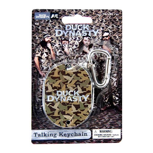 Duck Dynasty Talking Key Chain