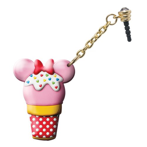 Minnie Mouse Ice Cream D-Lish Treats PVC Phone Charm