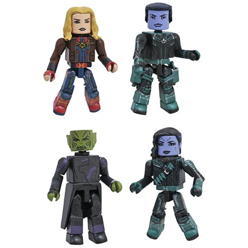 Captain Marvel Movie Minimates Box Set