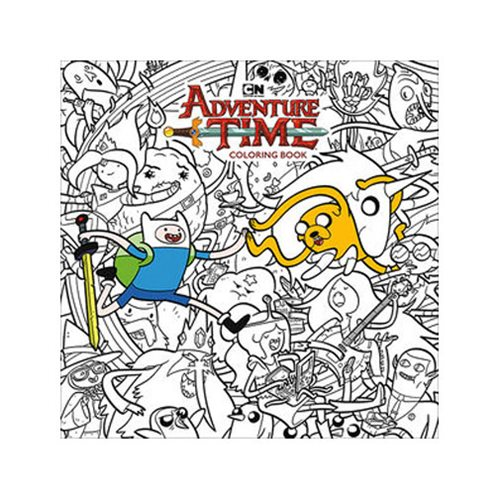 Adventure Time Coloring Book Volume 1