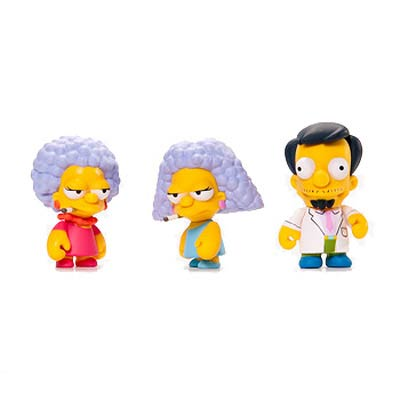 The Simpsons Series 2 Vinyl Mini-Figure Display Box