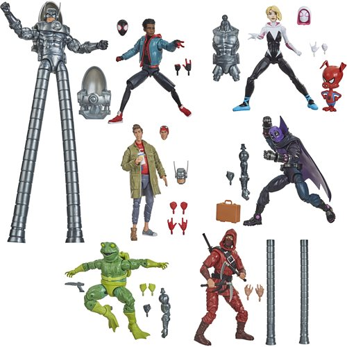 Spider-Man Marvel Legends 6-Inch Action Figures Wave 1 Case of 8 - Stilt-Man Series