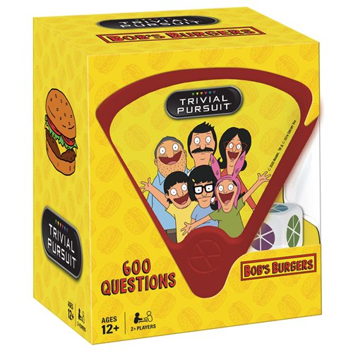 Bob's Burgers Trivial Pursuit Game