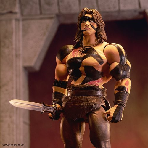 Conan the Barbarian Ultimates War Paint Conan 7-Inch Action Figure