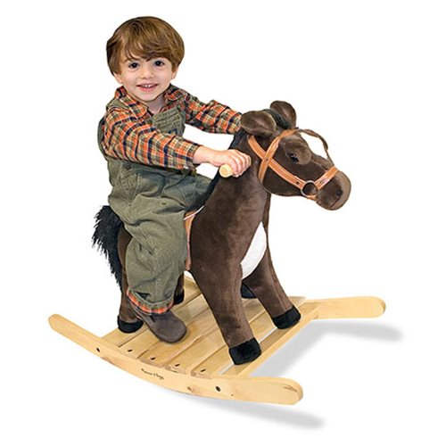 Rock And Trot Rocking Horse Plush Toy