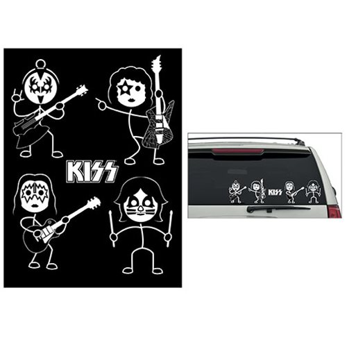 KISS Window Decals Set of 2 Sheets - Convention Exclusive