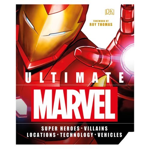 Ultimate Marvel: Super Heroes Villains Locations Technology Vehicles Hardcover Book