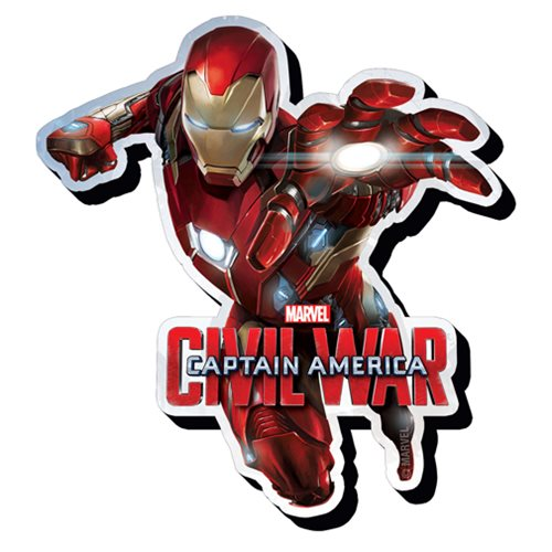 Captain America Civil War Iron Man Lunge Funky Chunky Magnet