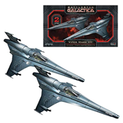 Battlestar Galactica Viper MKVII 1:72 Scale Model Kit 2-Pack