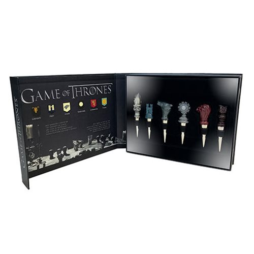 Game of Thrones House Sigil Wine Stopper 6-Pack