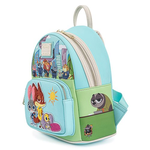 Zootopia Chibi Group Mini-Backpack