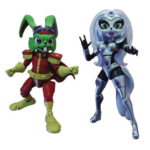 Bucky O'Hare Action Figure Series 1 Set