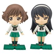 Girls Und Panzer Yukari and Mako Petiture-rise Model Kit