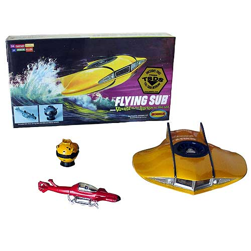 Voyage to the Bottom of the Sea Flying Sub Mini Model Kits