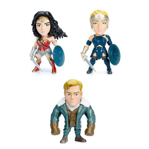 Wonder Woman Movie 4-Inch Metals Die-Cast Figure Wave 1 Case