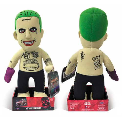 Suicide Squad Joker Tattoo 10-Inch Plush Figure - SDCC 2016 Exclusive