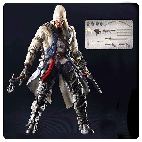 Assassin S Creed 3 Connor Kenway Play Arts Kai Action Figure